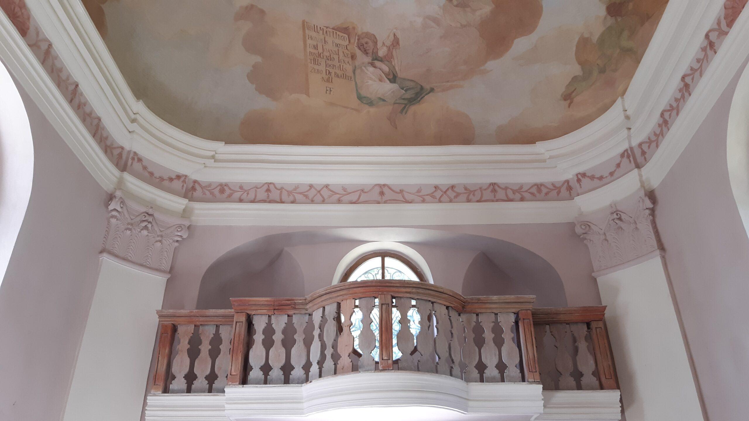 Náhled reference Plandry - kaple interiér